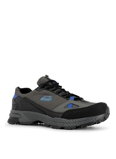 Slazenger Slazenger ADAM I Yürüyüş Erkek Ayakkabı K. Antrasit